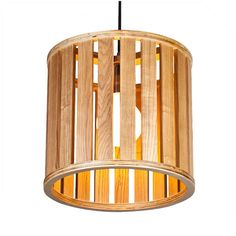 Simple wood pendant, size: Φ300*280 #wooddesign #woodlampshade #woodenlamp #woodlight #homedecor #pendant #lightingdesign #francisting #design #interior #project #woodworking #pendantlights #lightingfixture #homelighting #kichenlighting
