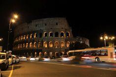 Colosseo.   I wish I had a tripod :\