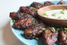 Jamaican Jerk Kickin' Chicken Wings. These are awesome wings, and perfect for your #tailgatingparty.