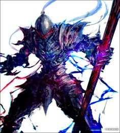 The Corrupted Knight. Fate Zero, Fantasy Armor, Dark Fantasy Art, Fate Stay Night, Character Concept, Character Art, Berserker Fate, Arte Ninja, Handy Wallpaper