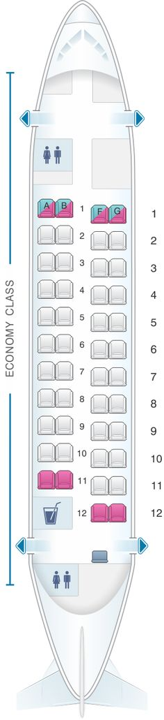 Latam Brasil Airbus A350 900 359 Seat Map Airline