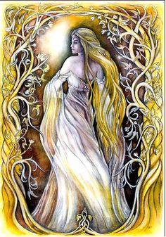 Galadriel et Arwen - Galadriel