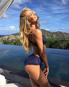 La hermosa Candice Swanepoel modelo de Victoria Secret                                                                                                                                                      Más