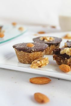 RAW + VEGAN peanut butter coconut cups with dark chocolate <3