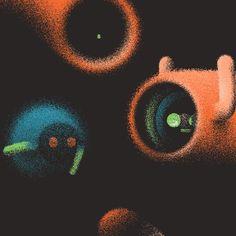 Funny Animated GIFs of Surreal Creatures – Fubiz Media
