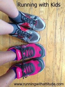 Running with kids. Tips for running as a family. Running. Parenting.