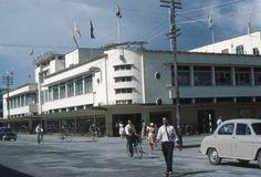 Guyana: Old Georgetown, British Guiana – pictures Bedford Buses, Bedford Van, Main Street, Street View, Morris Oxford, Traffic Camera, British Guiana, Morris Minor, Old Folks