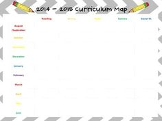music curriculum map template - 1000 images about curriculum mapping on pinterest