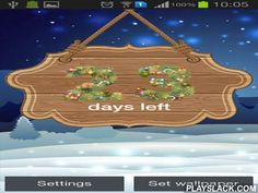 New Year: Countdown By Creative Work  Android App - playslack.com , New Year: Countdown by Creative work - excellent live wallpapers with New Year countdown. You can specify background illustrations as well as set other constants of the app.