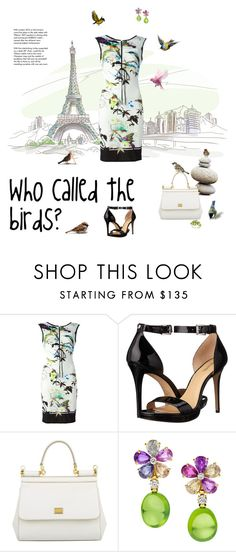 """""""Who called the birds?"""" by suelysara ❤ liked on Polyvore featuring Roberto Cavalli, MICHAEL Michael Kors, Dolce&Gabbana, Bulgari, Drukker Designs and Tiffany & Co."""