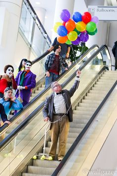 """""""I think he's going…UP."""" #Walter #Cosplay at RICC 2014 - Tom DeRosa"""