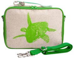 SoYoung - Lime Green Turtle Lunch Box - SoYoung - eco-friendly bags and  accessories for the modern family - designed in Canada 97ad257903785
