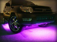 Purple lights on the bottom! <3