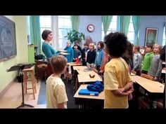 Fourth Grade Movement Lesson at City of Lakes Waldorf School