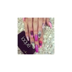 laqué nail bar ❤ liked on Polyvore featuring beauty products and nail care