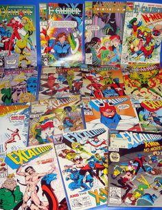 Lote de comics EXCALIBUR- 15 numeros muy buen estado edicion americana (1992)
