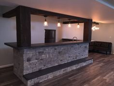 unfinished basement - finished basement ideas (basement decor) #Basement Tags: unfinished basement ideas, unfinished basement decorating, basement decorating rustic