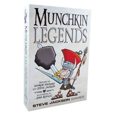 This is out most recent acquisition in our infinite Munchkin collection.