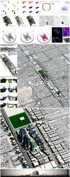 Master Of Urban Design Thesis; Riyadh, Saudi Arabia on Behance
