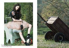 On PhotoVogue Springless   Springless Photography Tiziano Toma Fashion Designer Pamela Fornari Model Valentina Russo Makeup Elisabetta Merafina