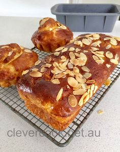 """Brioche is a classic French pastry, similar to a highly enriched bread, whose high egg and butter content give it a rich and tender crumb. Chef Joel Robuchon describes it as """"light and puffy,…"""