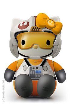 Hello Rebel Pilot Kitty
