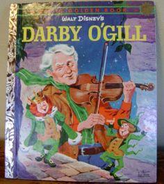 Walt Disney's Darby O'Gill - Little Golden Book