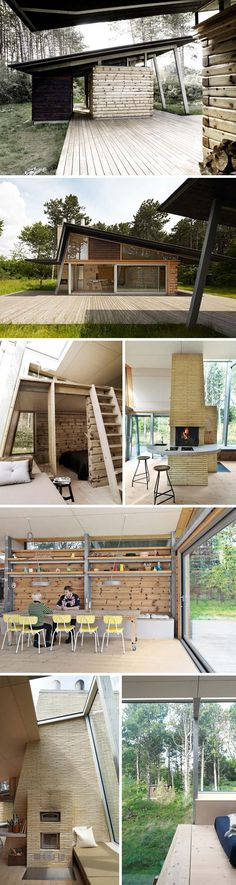 Click to enlarge Danish architect Jesper Brask and his family spent three years, living on (in a trailer) and analyzing a woodsy acre of land in North Zealand, Denmark — coming to know everything a...