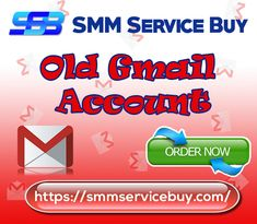 Buy old gmail account from us. USA sign verified and smart quality. These accounts won't raise you for verification later.