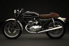 Modifikasi Honda CB 125 ala Cafe Racer