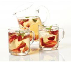 Para una tarde de verano calurosa, nada mejor que un té refrescante.