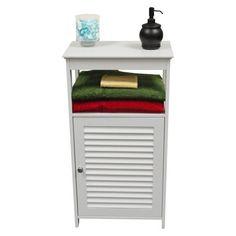 Target || Ellsworth Single Door Cabinet - White/Es
