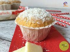Muffin Raffaello - ricetta facile e supergolosa
