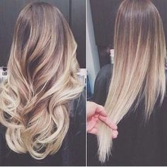 The colour! Can't decide if I should do ombré or move back to brown.. Just lighter then I usually go.