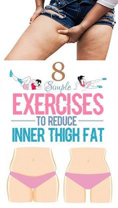 8 Exercises To Reduce Inner Thigh Fat. http://amzn.to/2s1tGlK