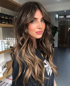 popular hairstyles this year – Hair desing Brown Hair Balayage, Balayage Brunette, Hair Color Balayage, Brown Balyage, Dark Balayage, Bayalage, Haircolor, Hair Color And Cut, Gorgeous Hair