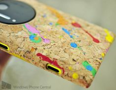 Natural cork case for the Nokia Lumia 1020