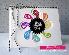 Card created by Kristie Goulet for The Perfect Reason Stamp of Approval