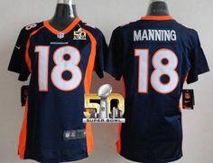 Nike Broncos  18 Peyton Manning Blue Alternate Women s Stitched NFL New  Elite Jersey And Malik. Eric WeddleSuper Bowl ... cdebf51ba