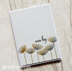 Stamping & Sharing: Wish Big