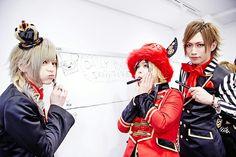 Mei, Haru, and Mizuki