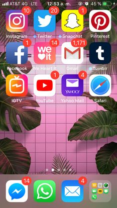Iphone Home Screen Layout, Iphone App Layout, Iphone Hacks, Iphone 10, Organize Phone Apps, Wallpaper App, Wallpapers, Phone Organization, Best Android