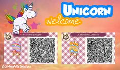 (notitle) The post Untitled appeared first on Marcia Sterling. Qr Code Animal Crossing, Animal Crossing Qr Codes Clothes, Flag Code, Motif Acnl, Happy Home Designer, Unicorn Pattern, Kawaii, Room Signs, New Leaf