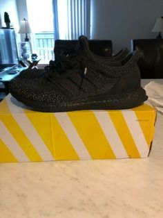 c00be4747fa Details about Mens Adidas UltraBoost Ultra Boost Clima Triple Black- CQ0022