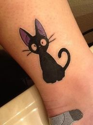 studio ghibli tattoo Yes. Jiji is awesome. Miyazaki is the best