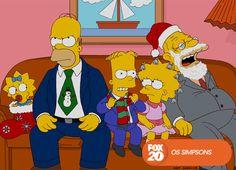 Espere pelo Natal com 8 episódios temáticos da família mais divertida.  Especial Natal Amarelo com Os Simpsons - Terça, 24 de dezembro, a partir das 19h15 #EuCurtoFOX Confira conteúdo exclusivo no www.foxplay.com