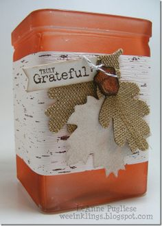 wee inklings: Altered Fall Project