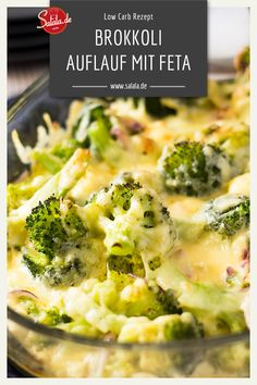 carb broccoli and cheese gratin - Low Carb Brokkoli-Käse-Gratin Do you like broccoli and cheese and feta cheese? Then you have to try our low carb broccoli feta casserole. Veggie Recipes, Low Carb Recipes, Vegetarian Recipes, Dinner Recipes, Healthy Recipes, Cheese Recipes, Salad Recipes, Broccoli Gratin, Broccoli And Cheese