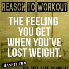Reason to Workout!