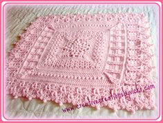 Ravelry: Heirloom Coverlet for Baby pattern by Vicki Plunkett